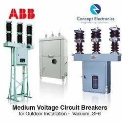 1600 33KV ABB Circuit Breaker, Making Capacity: 50KA