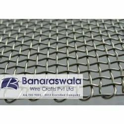 Twill Silver SS Woven Wire Mesh, Thickness: 2 To 12 Mm