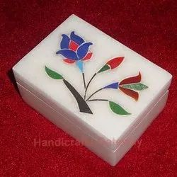 Marble Inlay Box For Gift
