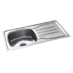 Single Bowl with Drain Board