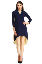 Poly Crepe Cottinfab Women''s Ethnic Kurti