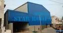 MS Steel Roofing Sheet Materials shed