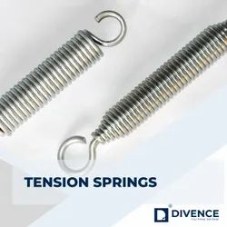 DIVINE S.s And Spring Steel Large Tension Springs, for Domestic