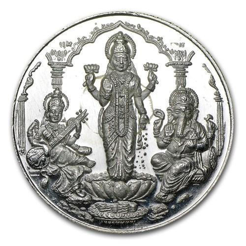 1 Gram Silver Coin Price In Hyderabad Laxmi Ganesh