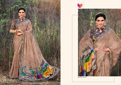 Mintorsi Maira Series 8101-8111 Stylish Party Wear Satin Georgette Saree