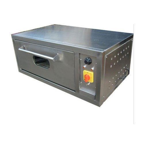 Brite Stainless Steel Single Deck Baking Oven, 4.5 Kw