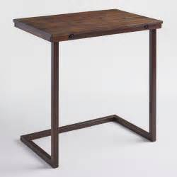 Metal Wood Occasional Table