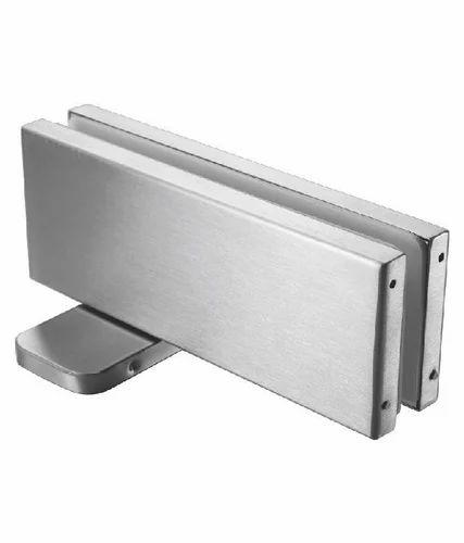 Stainless Steel And Aluminium Rolls And Kent Glass Door Floor Spring