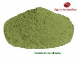 Sigma Dehydrated Green Fenugreek Leaves Powder, Packaging Type: Packet, Packaging Size: 200g