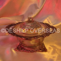 Deshilp Overseas More Color Available Metal Silver Jar