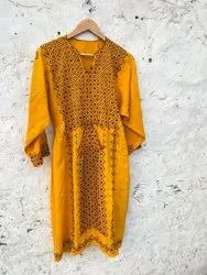 Indian Antique Hand Balochi Ethnic Dress Banjara Embroidery