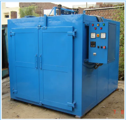 200 Degree Celsius Industrial Powder Coating Oven, Capacity: 2000-3000 kg