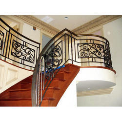 Mild Steel MS Railing, For Home