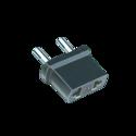 AX-424 Combi Plug 2 In 1