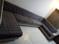 Modern Brown Living Room Sofa Set, For Home