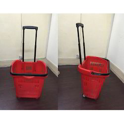 Wheeled Shopping Trolley