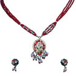 Ethnic Lacquer Fancy Necklace Set 141