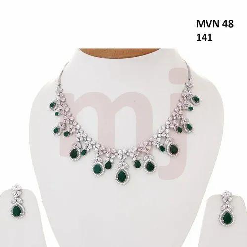 Artificial Bridal Necklace Jewellery Set