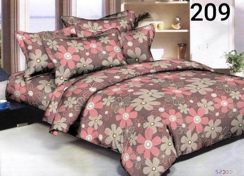 Avnoor Daresy Thick Glace Cotton Double Bed Sheet 90 X 100 Inches Packaging Type