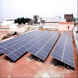 Industrial Rooftop Solar Power Plant