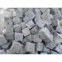 Blocks Of Black Limestone