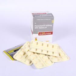 Paracetamol 650mg DT (Lemon Flavour) Tablets