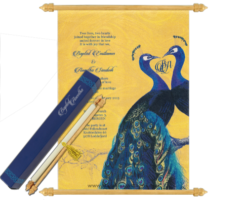 scroll wedding cards madhursh cards at rs 88 piece sardar nagar
