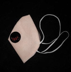 Reusable NE95 Face Mask With Single Filter, Number of Layers: 4