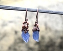Tanzanite Gemstone Earrings