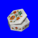 Marble Box with Inlay and Jaali Work