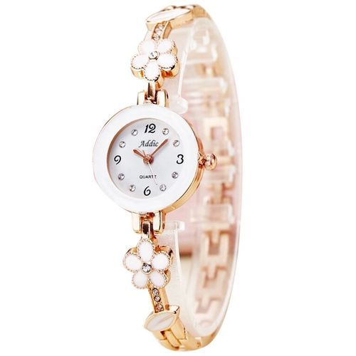 038e65dac3a Stainless Steel Ladies Addic Analogue White Dial Watch