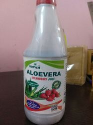 Sovam Aloevera with Strawberry Juice