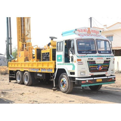 Truck Mounted Drill Rig, for Water Well, Drilling Rig Type: Land Based Drilling Rigs