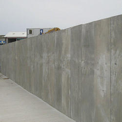 Concrete Security Wall