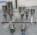 3-branch Stainless Steel Solvent Filter Manifold, Usage: Hplc