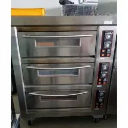 Berjaya Stainless Steel Electrical Baking Oven 3 Deck