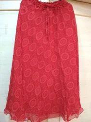 Quota Doriya Circle Print Skirt