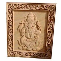 Lord Ganesha Stone Mural