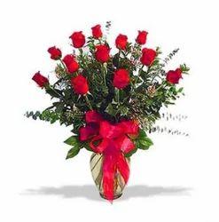 Red Roses Vase (IGA001)