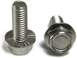 Hex Flange Serrated Bolts