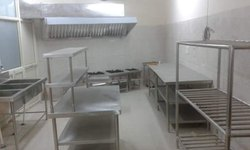 Industrial Kitchen Furniture For Canteen