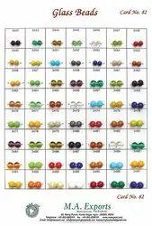 Plain Small Hole Glass Beads