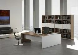 Mdf Wooden Executive Desk.