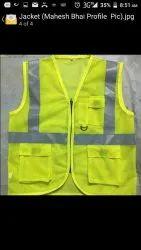 Sleeveless green Florosant jacket, Size: medium