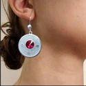 Errnd3spk Silver Filigree Earrings