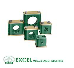Stainless Steel And Rubber Green Stauff Clamps