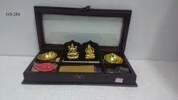 GS-284 Laxmi Ganesha Pooja Gift Set