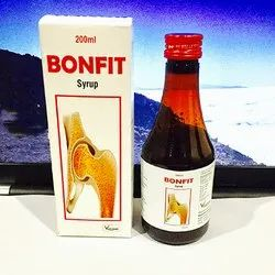 Bonfit Repairing Broken Bones Syrup, Packaging Size: 200 mL, Packaging Type: Bottle