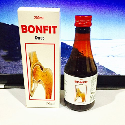 Bonfit Repairing Broken Bones Syrup, Packaging Size: 200 mL, Packaging Type: Bottle