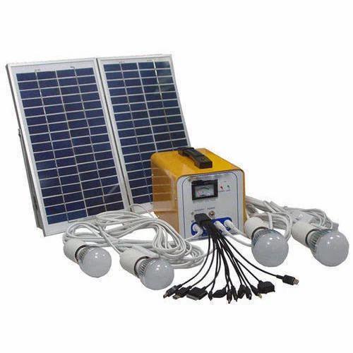 Led Solar Home Lighting System Rs 2500